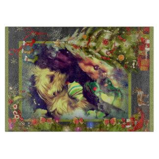 Träume von Weihnachten Toyland 11,5 x Schneidebrett