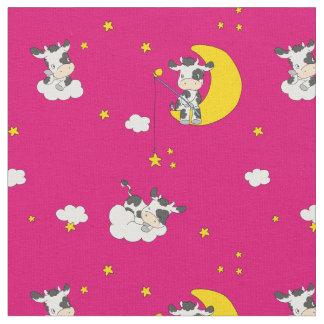 Träumen der Kuh Stoff