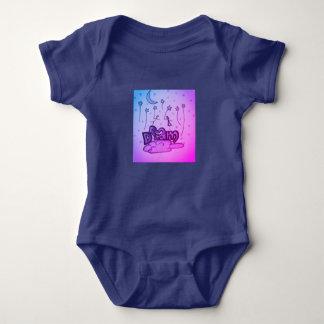 Träumen der Lagerschwelle Baby Strampler