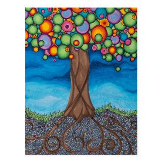 Träumen des Baums Postkarte