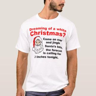 Träumen eines weißen Weihnachten T-Shirt