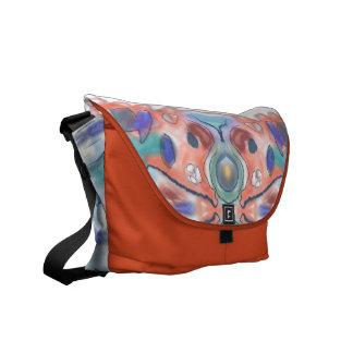 Träumerische Farben Kurier Tasche