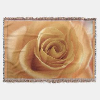 Träumerische Rose Decke