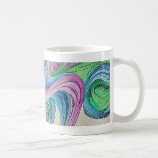 Träumerischer Watercolor mit der Tasse