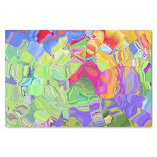 Träumerisches buntes abstraktes seidenpapier