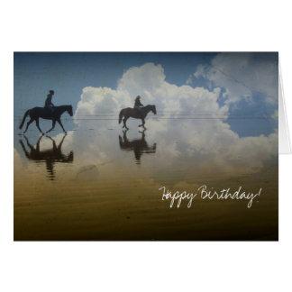 Traumfahrt, Geburtstag Karte