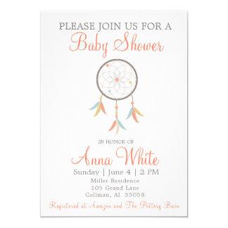 Traumfänger-Babyparty-Einladung 12,7 X 17,8 Cm Einladungskarte