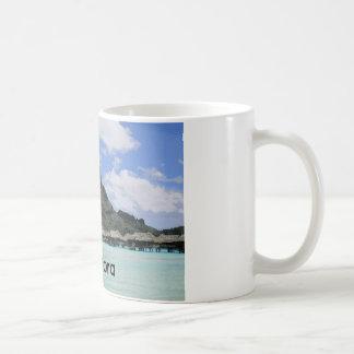 Traumferien Bora Bora Tahiti Atoll-Bildung Kaffeetasse
