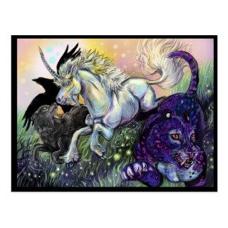 TraumGaurdians magische mystische Kunst Postkarte