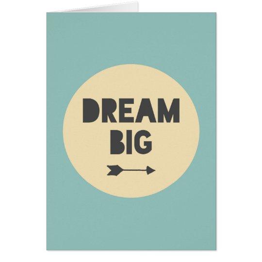 Traumgroßes - Blau Karte