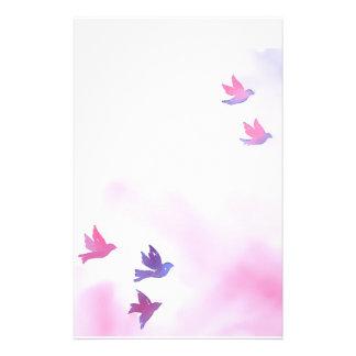 Traumvogel-Briefpapier Druckpapiere