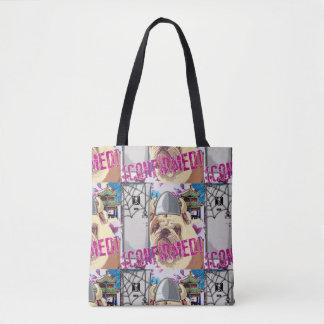 Traurige Bulldoggen-Taschen-Tasche Tasche