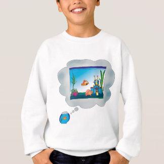 Traurige Fische Sweatshirt