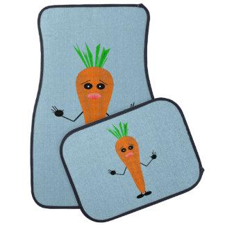 Traurige Karotte durch Kenneth Yoncich Autofußmatte