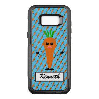 Traurige Karotte durch Kenneth Yoncich OtterBox Commuter Samsung Galaxy S8+ Hülle