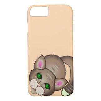 Traurige Katze iPhone 8/7 Hülle