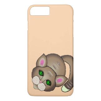 Traurige Katze iPhone 8 Plus/7 Plus Hülle