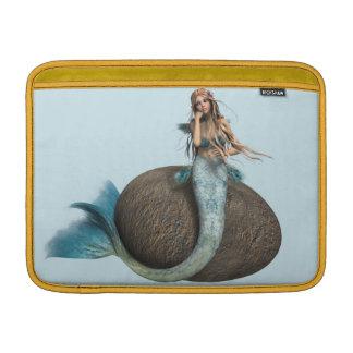 Traurige Meerjungfrau MacBook Sleeve