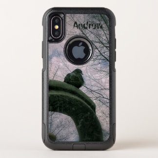 Traurige Taube OtterBox Commuter iPhone X Hülle