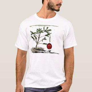 Traurige Weihnachtsbaum-witzige Shirts und