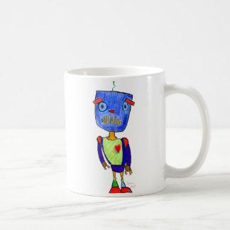 Trauriger Bot Kaffeetasse