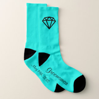 Trauzeuge-Diamant-Socke Socken