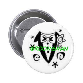 Trauzeuge Runder Button 5,7 Cm