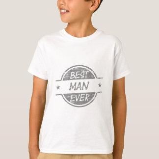 Trauzeuge überhaupt grau T-Shirt