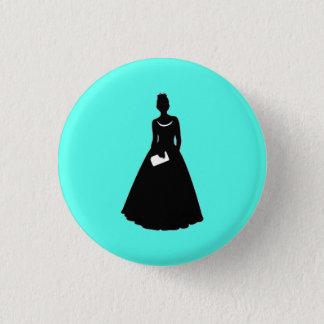 Trauzeugin-oder Brautjungfern-Flair Runder Button 2,5 Cm