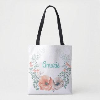 Trauzeuginblumenwreath-Taschen-Tasche Tasche