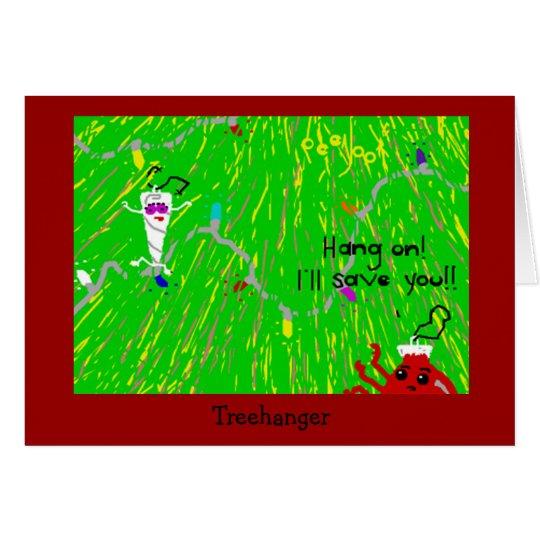 Treehanger Grußkarte