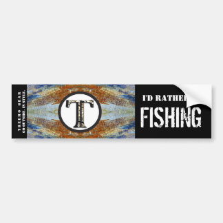 Treemo Natur-personalisierte Stoßaufkleber-Fische Autoaufkleber