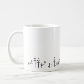 Treescape Minimalist-Tasse Kaffeetasse