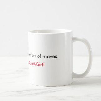 Treffen Sie Ihre Maßnahme Kaffeetasse