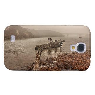 Treibholz im klaren starken Kasten des Wasser-HTC Galaxy S4 Hülle