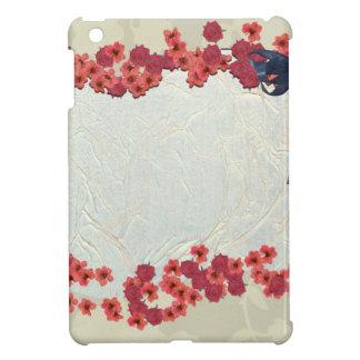Treillis floral coque iPad mini