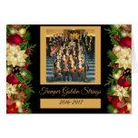 Tremper goldener Schnur-Feiertag Kenosha Wisconsin Grußkarte