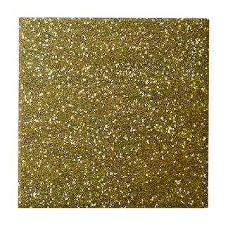 Trendy GoldGlitter Keramikfliese
