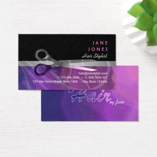 Trendy Haar-Stylistgeschäft Visitenkarte