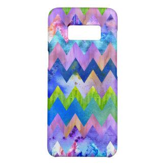 Trendy künstlerischer Watercolor, der Zickzack Case-Mate Samsung Galaxy S8 Hülle