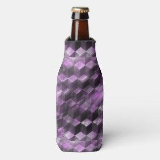 Trendy lila Muster Flaschenkühler