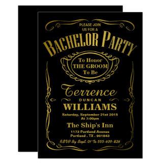 Trendy metallisches 12,7 x 17,8 cm einladungskarte
