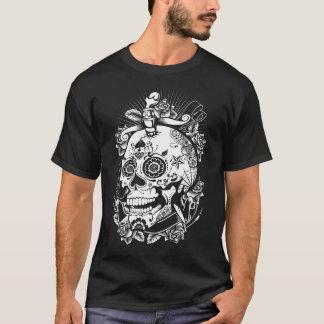 Trendy Schädel-Spaß-Shirt T-Shirt