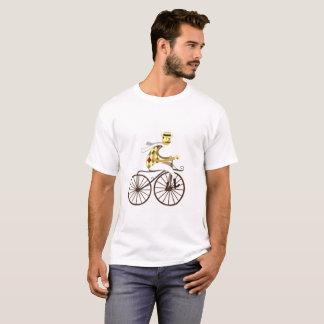 Trendy T - Shirtradfahrer-Fahrfahrrad Vintag T-Shirt