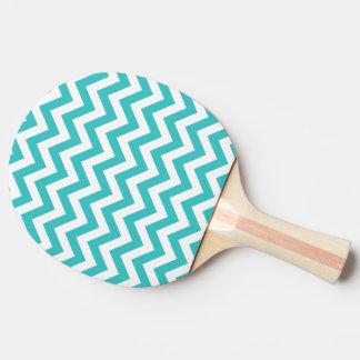 Trendy Zickzack Ping Pong Paddel Tischtennis Schläger