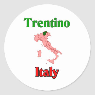 Trentino Italien Runder Sticker
