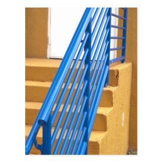 Treppen-Geländer Postkarte