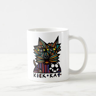 """Treten Sie Kat"" 11 Unze-Klassiker-Tasse Tasse"