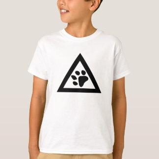 TRIANGL Tatzen-Logo, kundengerechte Farbkinder T-Shirt