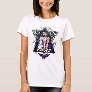 Triangle de tribal de femme de merveille t-shirt